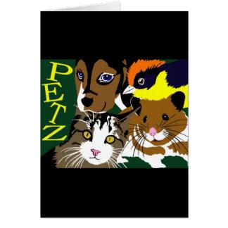 Petz World anime manga  vector art Card