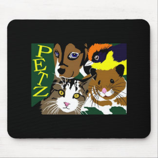 Petz World anime manga  vector art Mouse Pad