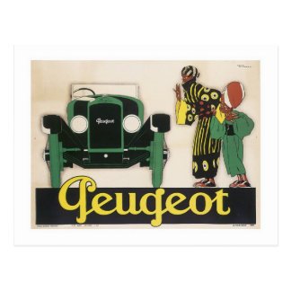 Peugeot (2) postcard
