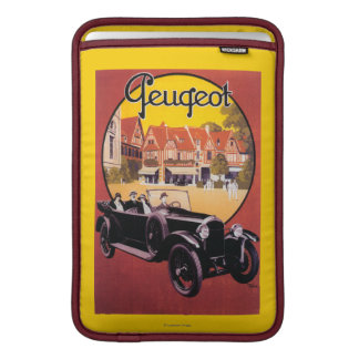 Peugeot Automobile Promotional Poster MacBook Air Sleeves