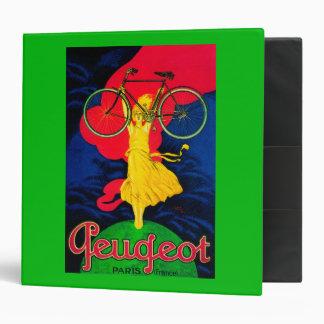 Peugeot Bicycle Vintage PosterEurope Binder
