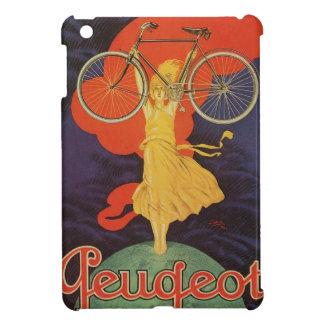 Peugeot Bicycles Bike Woman Paris Artistic Ad Case For The iPad Mini