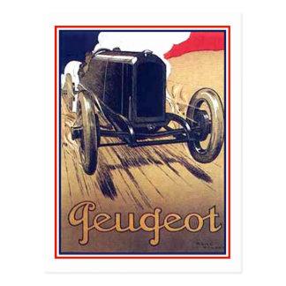 Peugeot Postcard