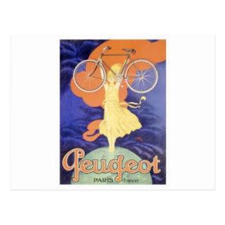 Peugeot Vintage Postcard