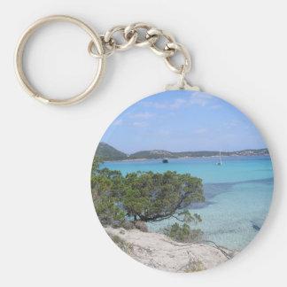 pevero beach sardinia Keychain