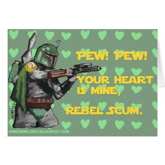 Pew! Pew! Card