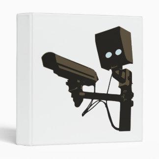 Pew Pew Pew Laser Radar Gun Robot Binder