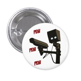 Pew Pew Pew Laser Radar Gun Robot Button