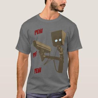 Pew Pew Pew Laser Radar Gun Robot T-Shirt