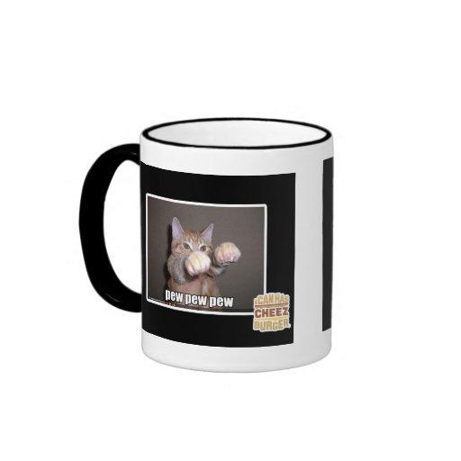 Pew pew pew mugs