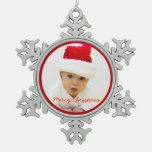 Pewter Christmas Ornaments With Baby
