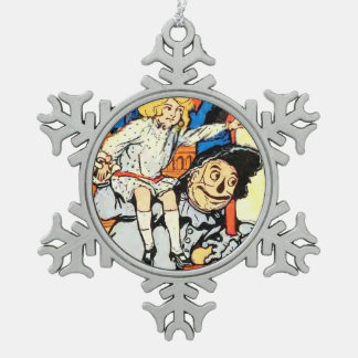 Pewter Christmas Ornaments - Wizard of Oz