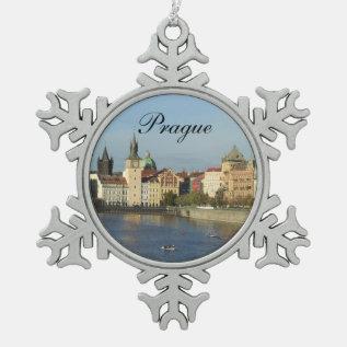 Pewter Prague Ornament at Zazzle
