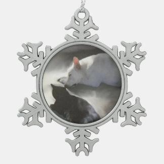Pewter Snowflake Ornaments