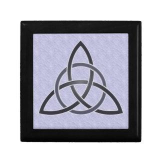 Pewter Trinity Knot Box