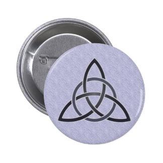 Pewter Trinity Knot Button