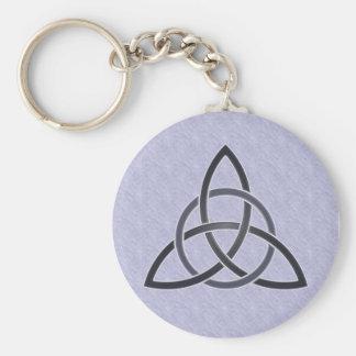 Pewter Trinity Knot Keychain