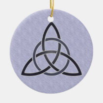 Pewter Trinity Knot Ornament