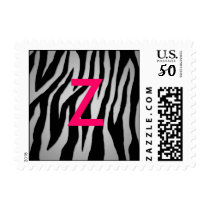 Pewter Zebra Postage