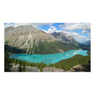 Peyto Glacial Lake Banff Park Alberta Canada Business Card