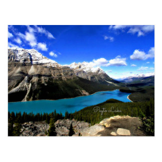 Peyto Lake, Canadian Rockies Postcard