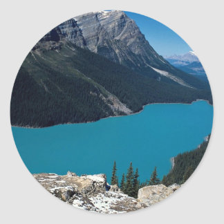 Peyto Lake, Icefield Parkway, Alberta, Canada Stickers