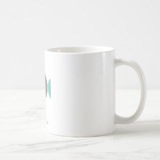 Pez azul coffee mug