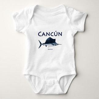 Pez volador de Cancun Body Para Bebé