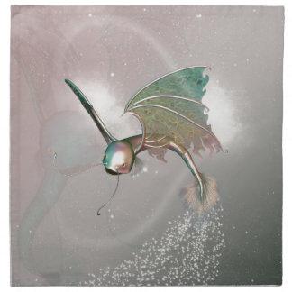 Pez volador divertido servilleta imprimida