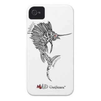 Pez volador que pesca Phonecase iPhone 4 Protectores