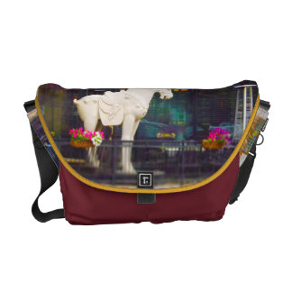 PF Chang's Chinese T'ang Horse Country Club Plaza Courier Bag