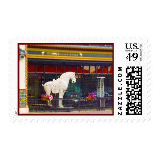 PF Chang's Chinese T'ang Horse Country Club Plaza Postage Stamp