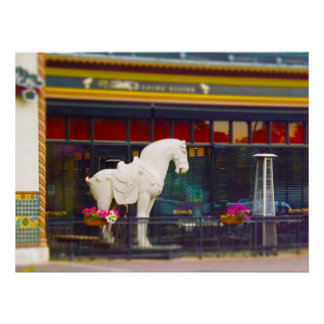 PF Chang's Chinese T'ang Horse Country Club Plaza Poster