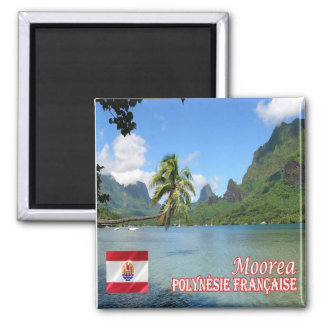 PF - French Polynesia - Cook Bay Moorea Magnet