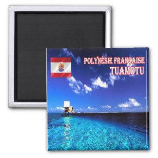 PF - Polinesia francesa - Tuamotu Imán Cuadrado