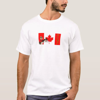 pf RCMP Flag T-Shirt