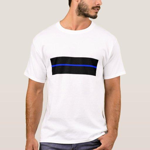 Pf thin blue line t shirt zazzle for Texas thin blue line shirt