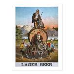 Pfaff Lager Beer - Vintage Ad 1800s Postcard