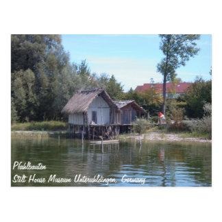 Pfahlbauten - museo Unteruhldingen de la casa del  Tarjetas Postales