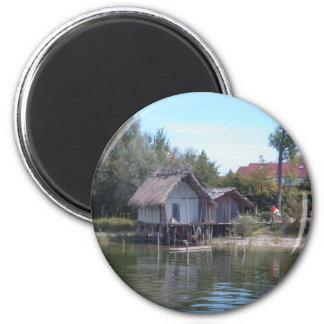 Pfahlbauten - Stilt House Museum Unteruhldingen Fridge Magnet