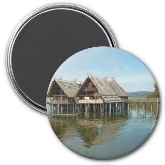 Pfahlbauten - Stilt House Museum Unteruhldingen Magnet
