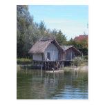 Pfahlbauten - Stilt House Museum Unteruhldingen Post Card
