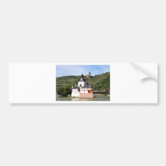 Pfalzgrafenstein Castle, Rhine River, Germany 3 Bumper Sticker