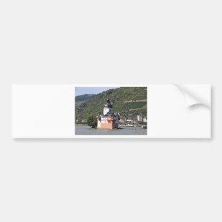 Pfalzgrafstein Castle, Rhine River, Germany 1 Bumper Sticker