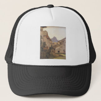 Pfamgasse in St. Wolfgang by Ferdinand Georg Trucker Hat