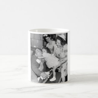 Pfc. Lee Harper, who was wounded_War Image Coffee Mug