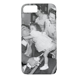 Pfc. Lee Harper, who was wounded_War Image iPhone 7 Case
