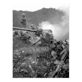 Pfc. Prauty romano, una imagen with_War del Tarjeta Postal