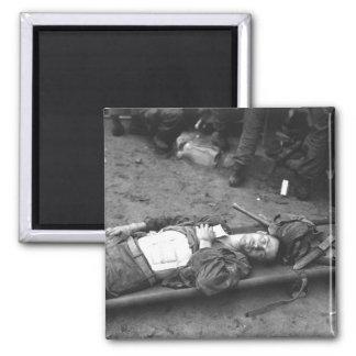 Pfc. Thomas Conlon, 21st Inf. Regt_War Image 2 Inch Square Magnet