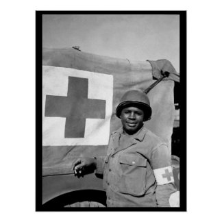 Pfc. Warren Capers recommended for_War Image Poster